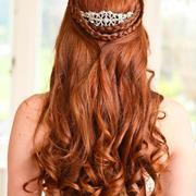 Half up half down withcurls - Wedding Hair photos. 1000s of bridal hair styles - Love Hair