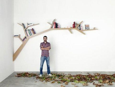 Branch Bookshelf | Fubiz™