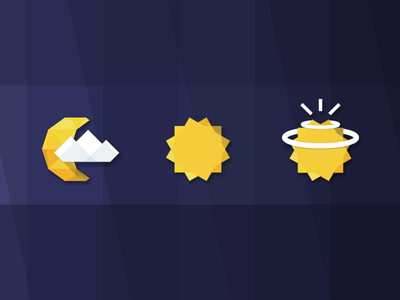 Geometry weather icon by see