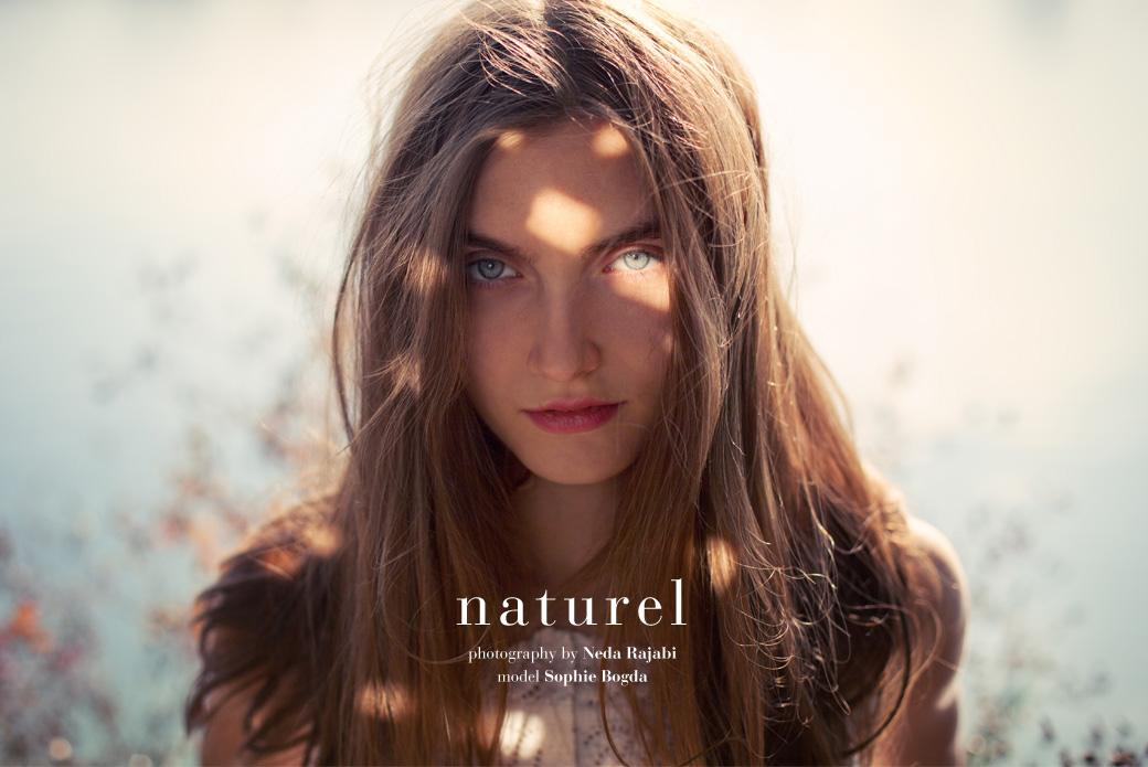 Naturel, fashion editorial by Neda Rajabi