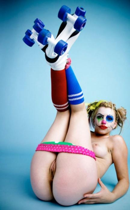 This Might Be Something, Someday. - Now that I've blogged about clown porn, I'm seeing...