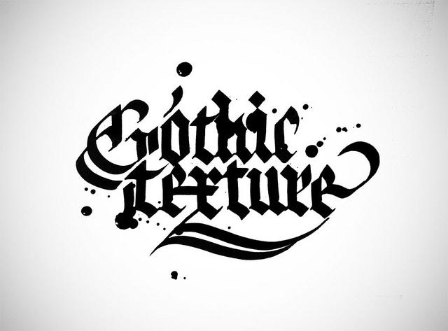 Gothic texture calligraphy | Flickr - Photo Sharing!