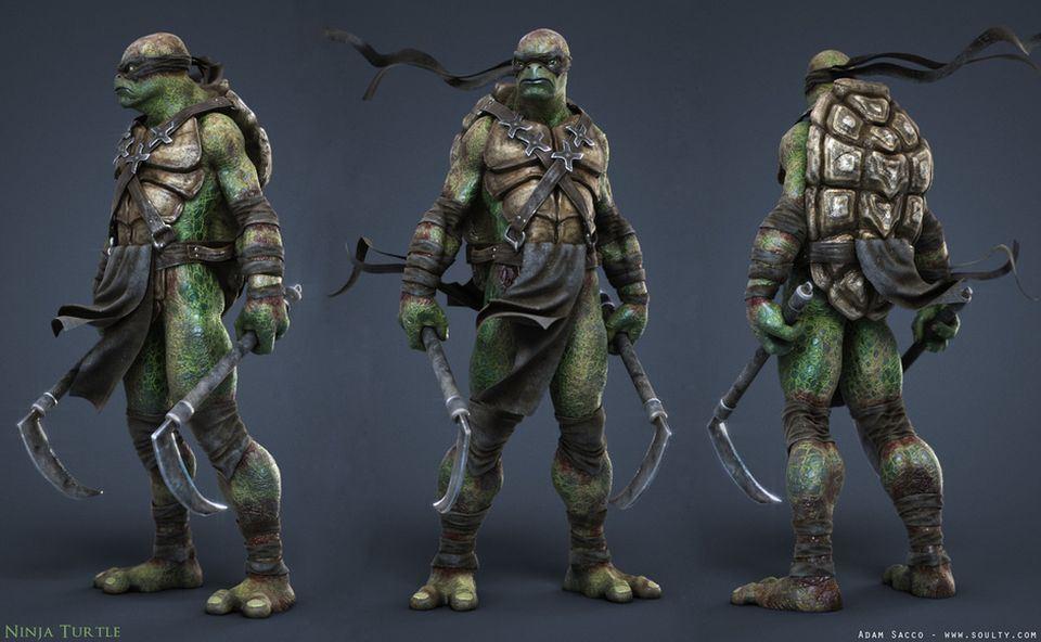Making-of-Ninja-Turtle-1.jpg (960×592)
