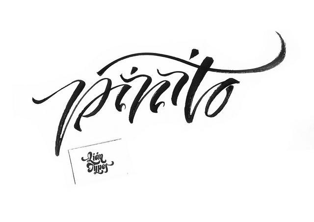 Brush lettering | Flickr - Photo Sharing!