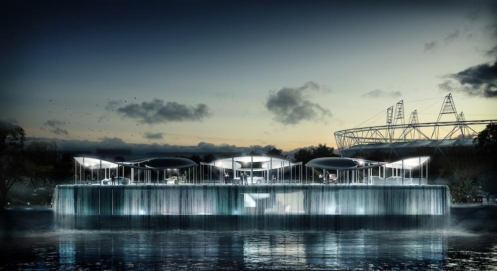 BMW Unveils Its London 2012 Olympic Pavilion Design - BMW 3-Series (E90 E92) Forum - E90Post.com