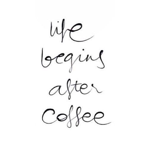 Gentil Life Begins After Coffee | Word | Type