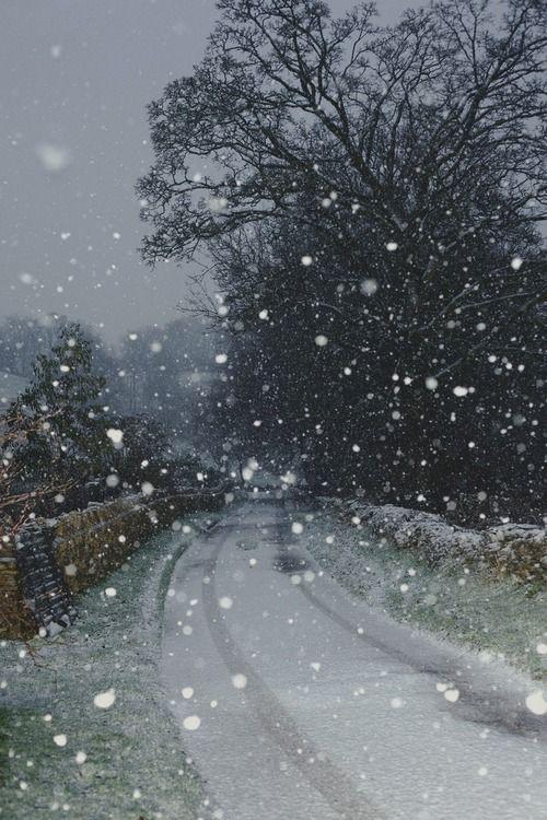 winter snow   Romantic winter