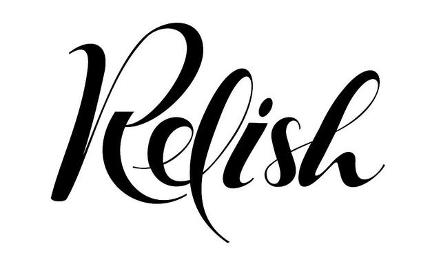 Lettering for Relish label | Flickr - Photo Sharing!