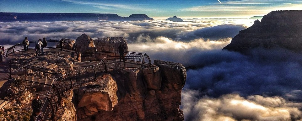 River of Clouds Inside the Grand Canyon @ ShockBlast