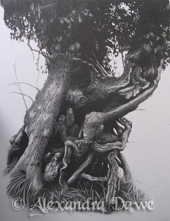 Inspiration Hut - Fantasy Illustrations by Alexandra Dawe