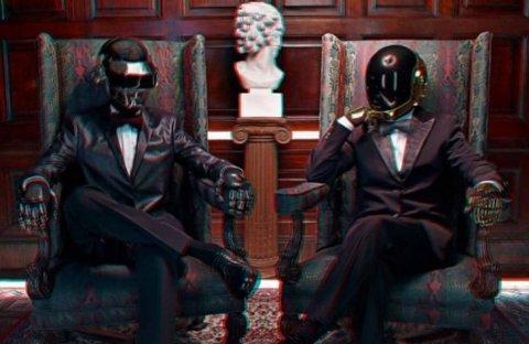 Daft Punk 3D | Fubiz™