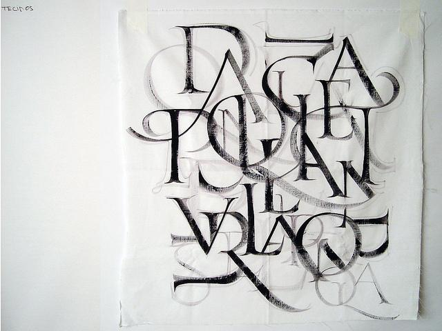 Practicing the Roman Capitals | Flickr - Photo Sharing!