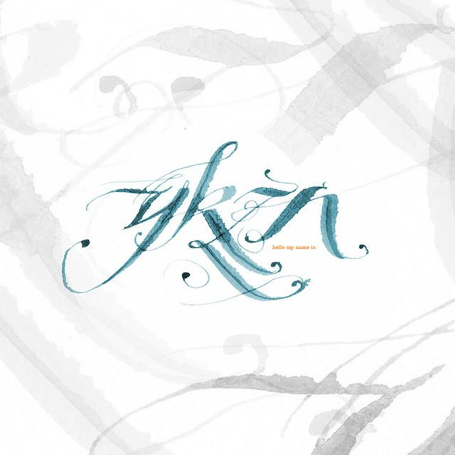 daily calligraph 09 07 31 | Flickr - Photo Sharing!