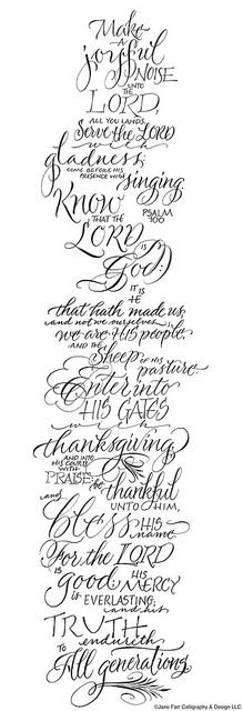 Thanksgiving: Psalm 100 | Flickr - Photo Sharing!
