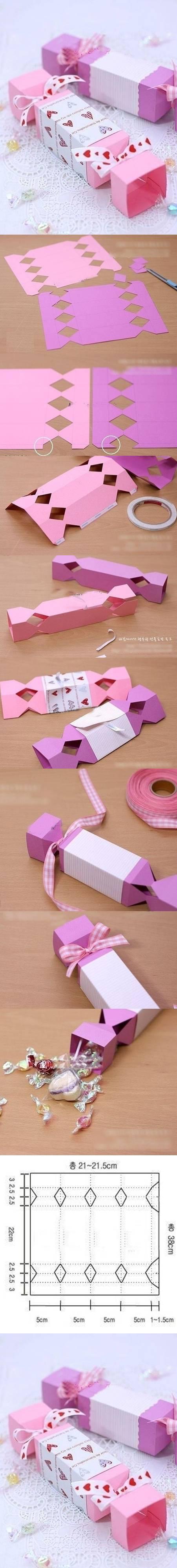 DIY Cute Candy Gift Box DIY Projects | UsefulDIY.com