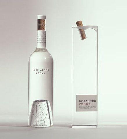 simple vodka bottle design. | Inspiration DE