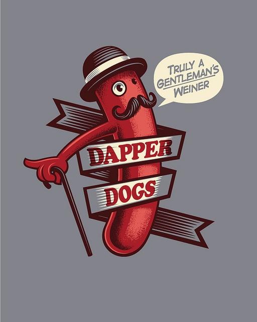 dapperdogs by leonryan.com, via Flickr | Illustration