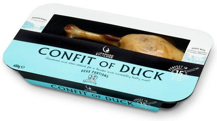 Confit of Duck - The Dieline: The World's #1 Package Design Website -