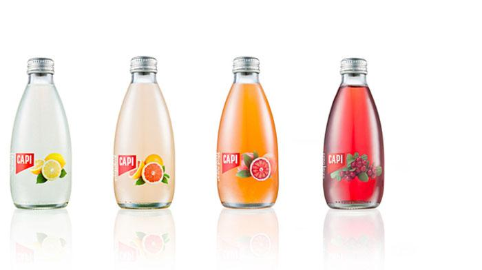 Capi Sparkling - The Dieline: The World's #1 Package Design Website -