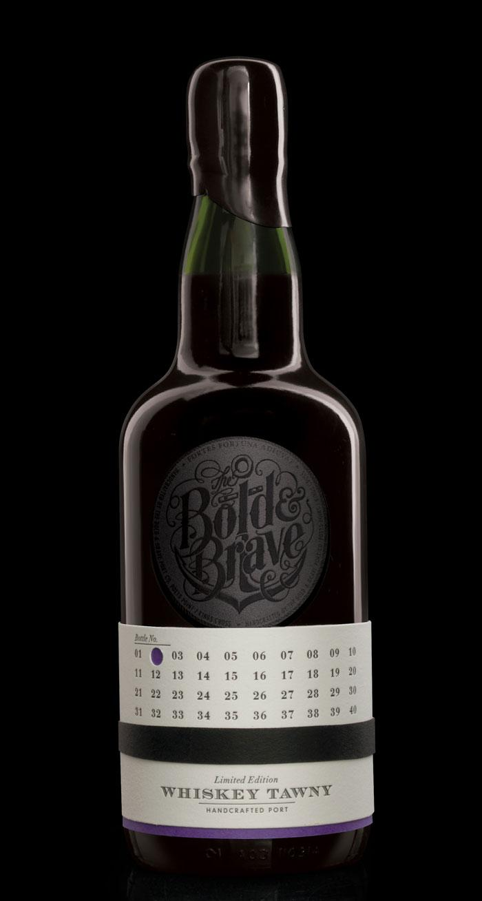 Bold Inc. Limited Edition Port Collection - The Dieline: The World's #1 Package Design Website -