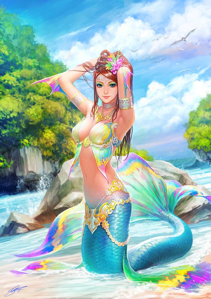 Mermaid by NeoArtCorE