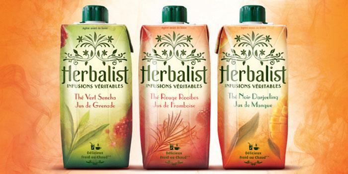 Herbalist - Real infusions - The Dieline: The World's #1 Package Design Website -