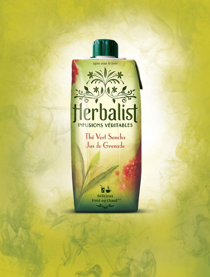 Herbalist - Realinfusions - The Dieline: The World's #1 Package Design Website -