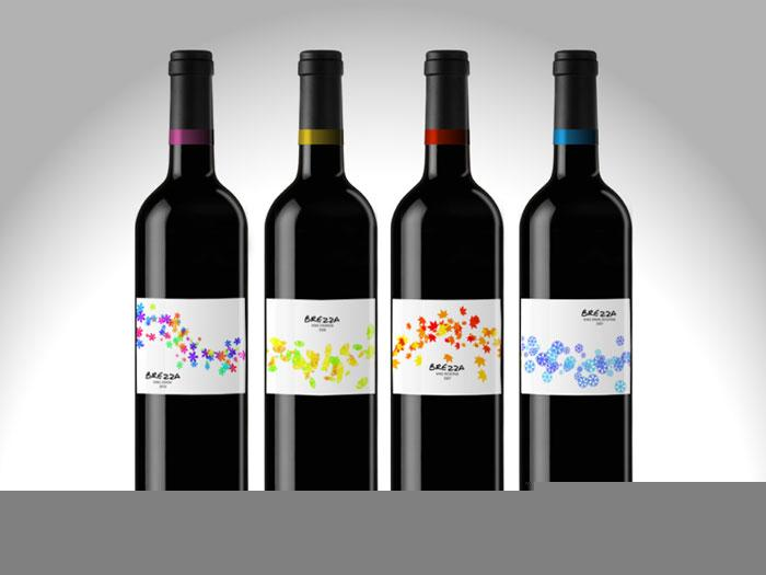 Student Spotlight: Brezza Wine - The Dieline: The World's #1 Package Design Website -