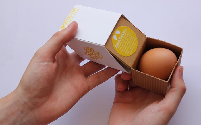Student Spotlight:Two Eggs for You - The Dieline: The World's #1 Package Design Website -