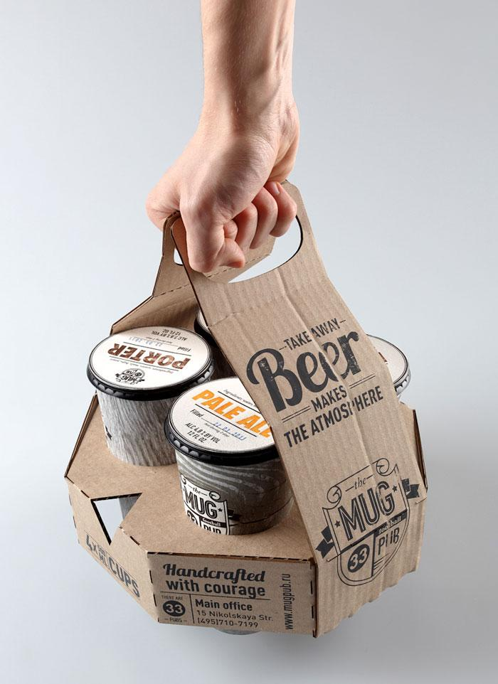 Student Spotlight: MUG pub - The Dieline: The World's #1 Package Design Website -