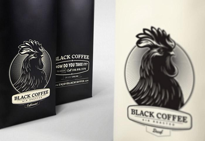 Black Coffee - The Dieline: The World's #1 Package Design Website -