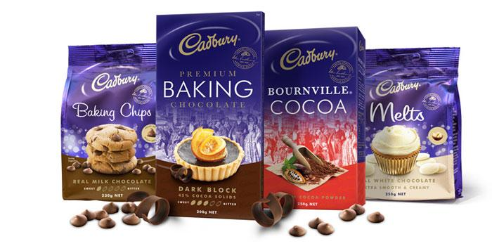 Cadbury Baking Chocolate - The Dieline: The World's #1 Package Design Website -