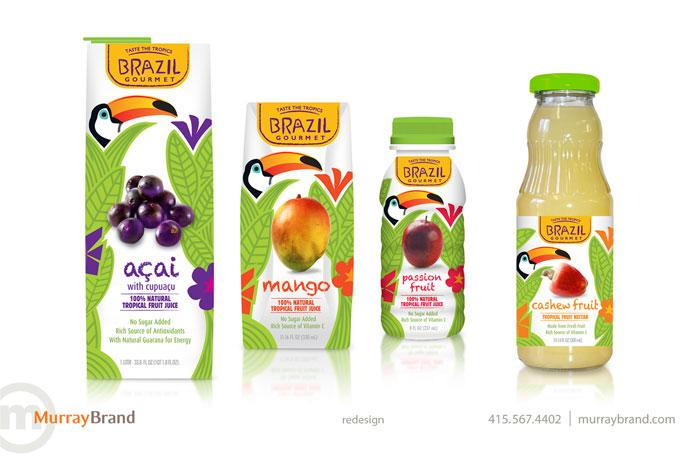 Before & After: BrazilGourmet - The Dieline: The World's #1 Package Design Website -