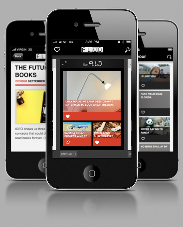 FLUD News for iPhone is Sexy!