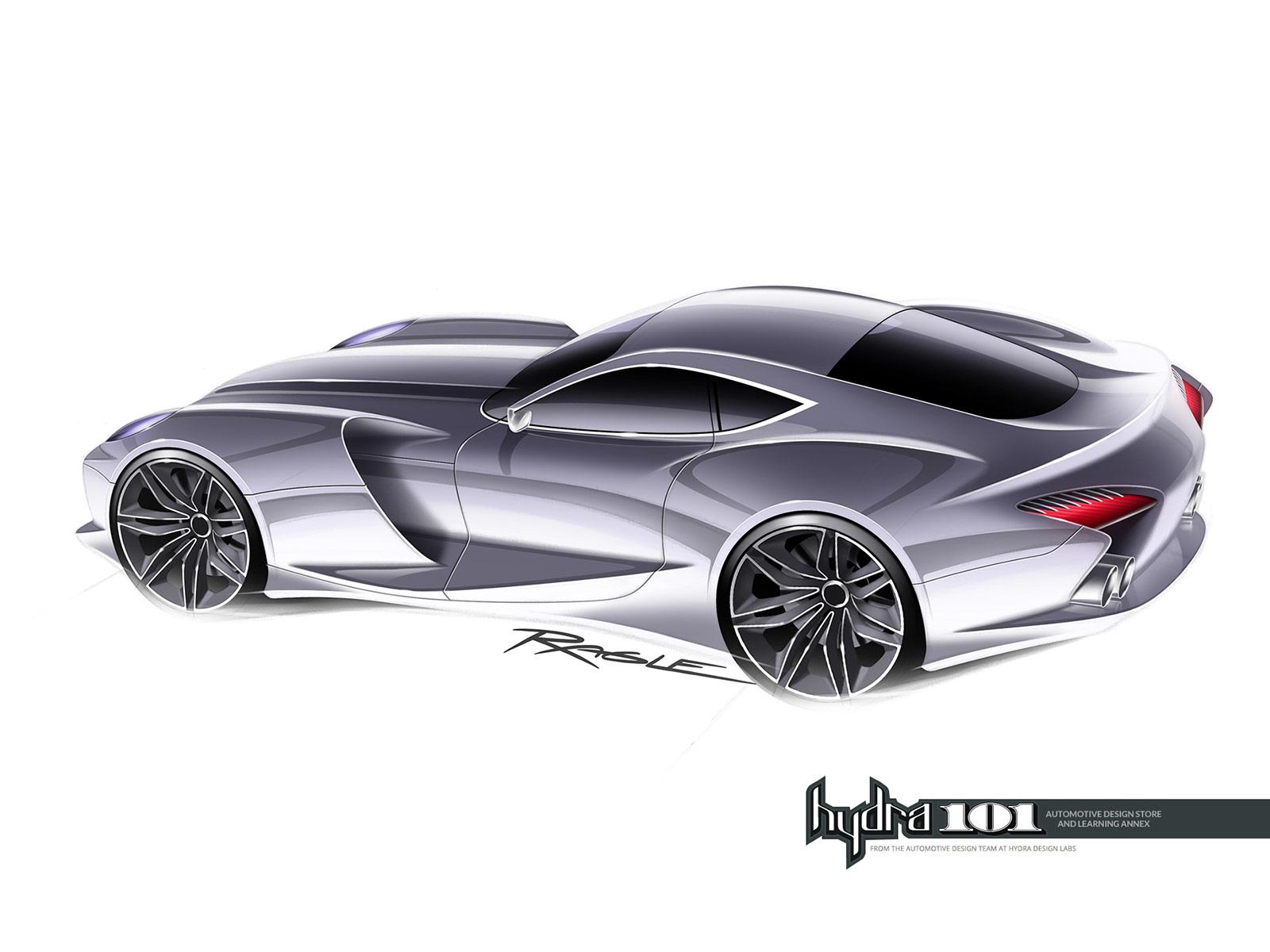 Supercar Design Sketch By Gary Ragle Car Body Design On