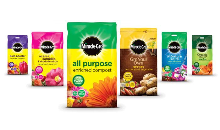 Miracle-Gro - The Dieline: The World's #1 Package Design Website -
