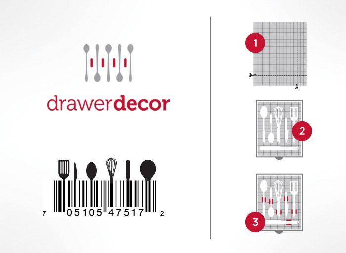 Drawer Decor - The Dieline: The World's #1 Package Design Website -
