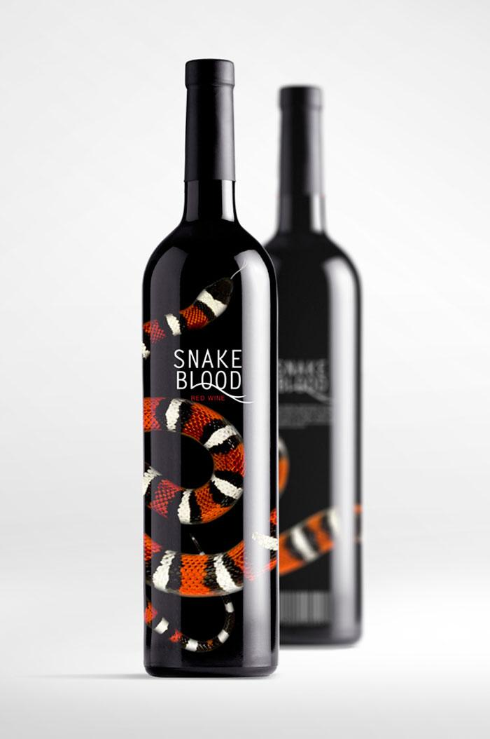 Student Spotlight: Snake Blood - The Dieline: The World's #1 Package Design Website -