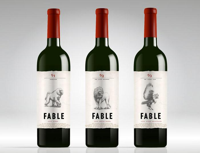 Fable Wines - The Dieline: The World's #1 Package Design Website -