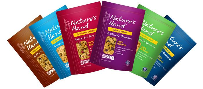 Nature's Hand Granola - The Dieline: The World's #1 Package Design Website -