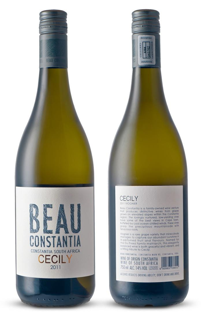 Beau Constantia - The Dieline: The World's #1 Package Design Website -