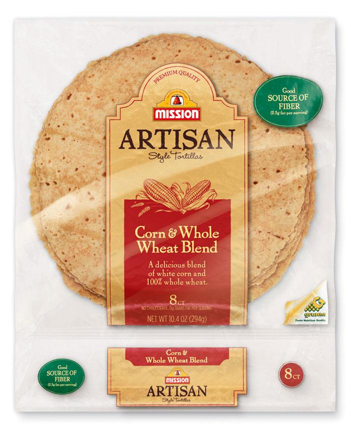 Mission: Artisan Style Tortillas - The Dieline: The World's #1 Package Design Website -