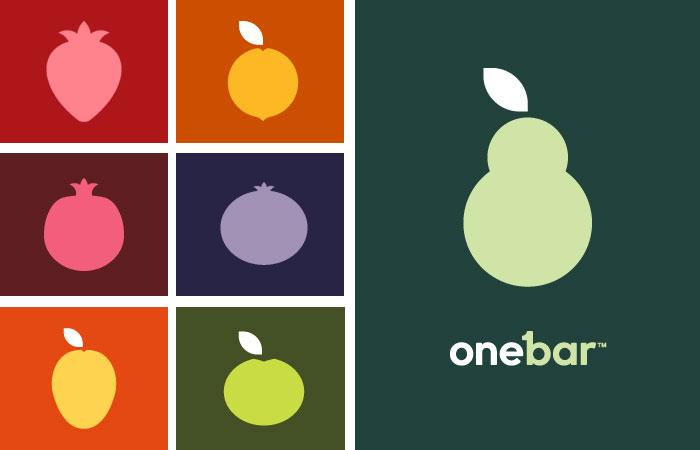 OneBar Fruit Bar - The Dieline: The World's #1 Package Design Website -
