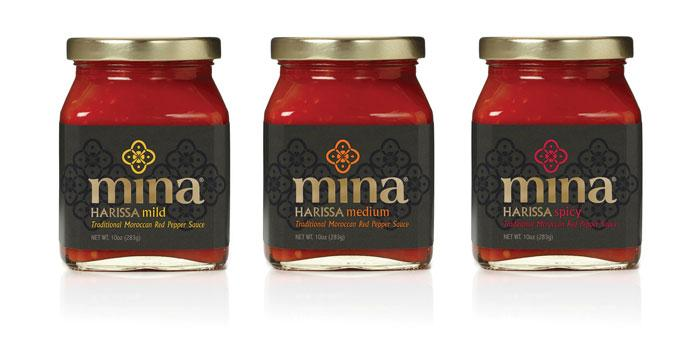 Mina Harissa - The Dieline: The World's #1 Package Design Website -