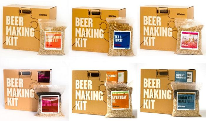 Brooklyn Brew Shop Beer Making Kit - The Dieline: The World's #1 Package Design Website -
