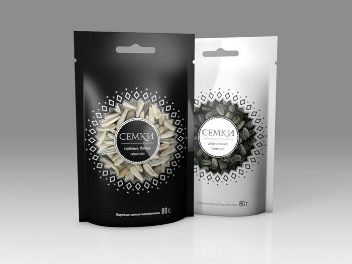 Student Spotlight: Semke SunflowerSeeds - The Dieline: The World's #1 Package Design Website -