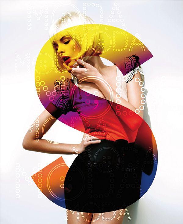 Poster MODA by elisabetta musci – Typography | Inspiration DE