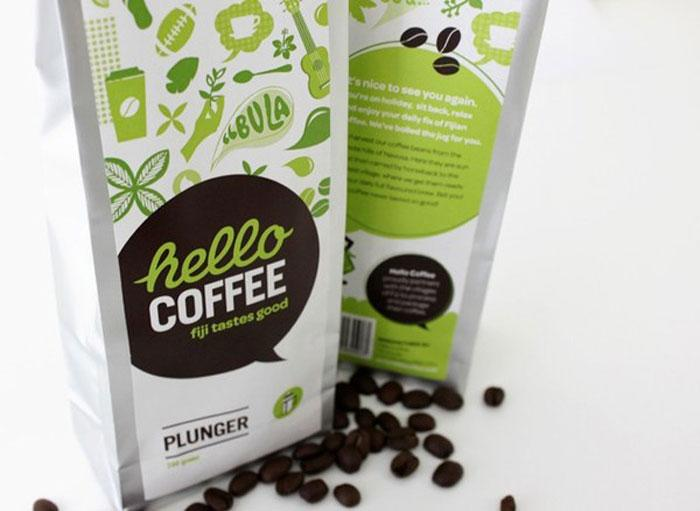 Hello Coffee - The Dieline: The World's #1 Package Design Website -