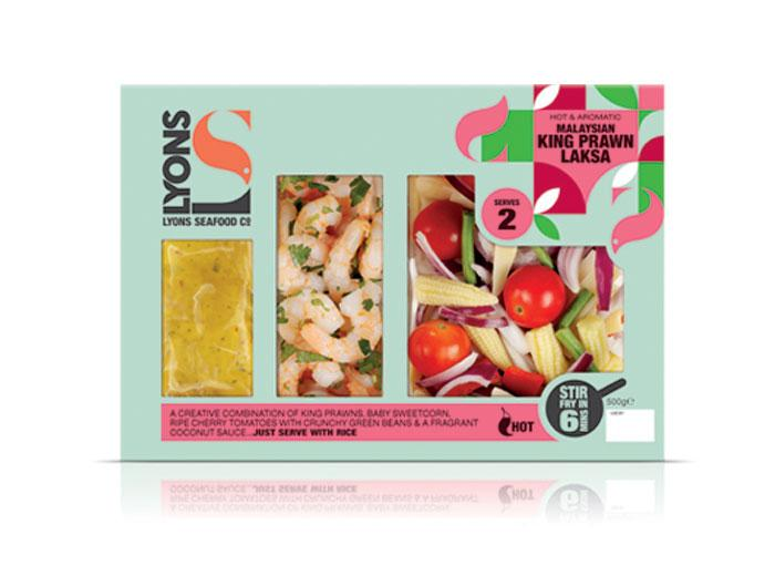 LyonSeafood - The Dieline: The World's #1 Package Design Website -