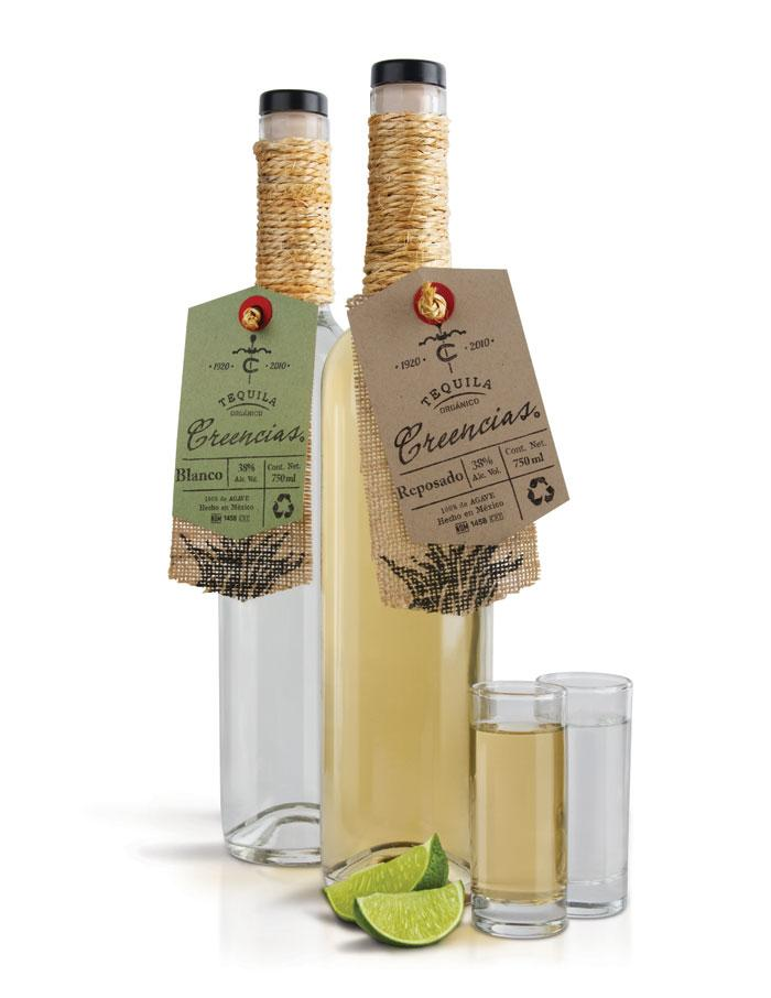 Creencias OrganicTequila - The Dieline: The World's #1 Package Design Website -